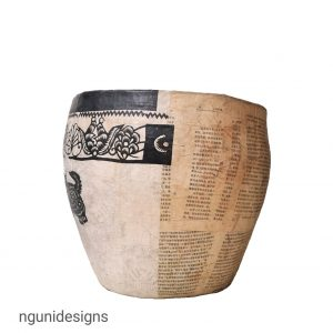A29(2) – Paper Mache Bowl (1)